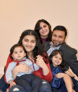 Dr. Geha and family